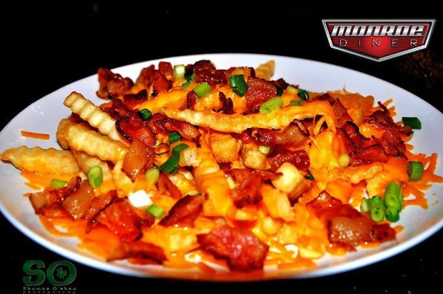 Loaded Fries at Monroe Diner Inc