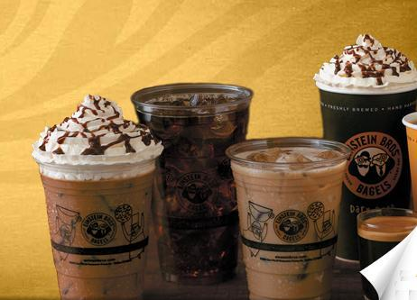 Specialty Coffees at Einstein Bros. Bagels