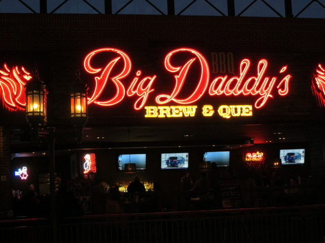 Exterior at Big Daddy's Brew and Que