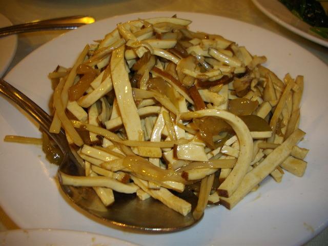 21. Vegetarian Shredded Pork with Preserved Vegetable at Happy Family Restaurant 3