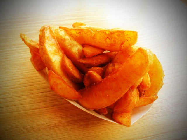 Seasoned Fries - Seasoned Fries at Oasis Tea Zone