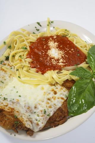 Chicken Parmesan at Original Napoli Italian Restaurant