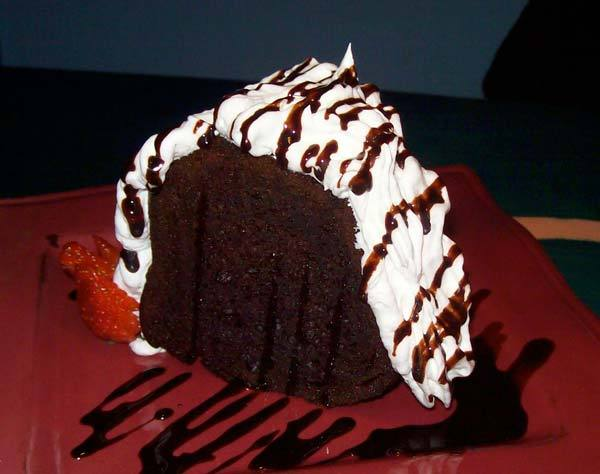 Kahlua Diablo Chocolate Cake at Lista's Grill