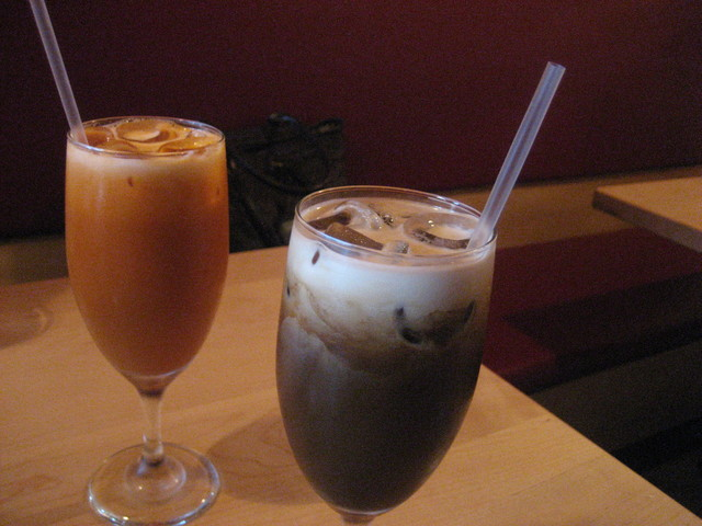 Thai Iced Tea & Thai Iced Coffee at Lemongrass