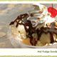 HOT FUDGE SUNDAE - HOT FUDGE SUNDAE at Coco's Bakery
