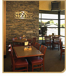 Interior at Sizzler