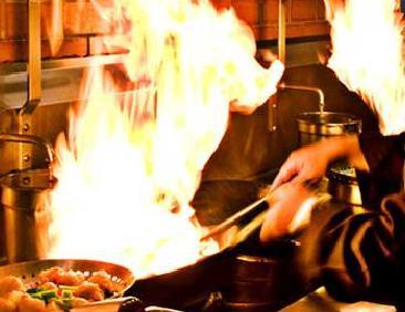 Interior at Pei Wei Asian Diner