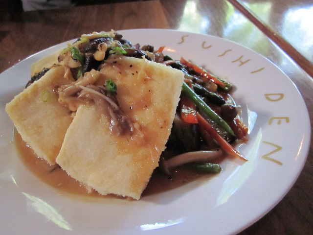 Tofu Steak at Sushi Den