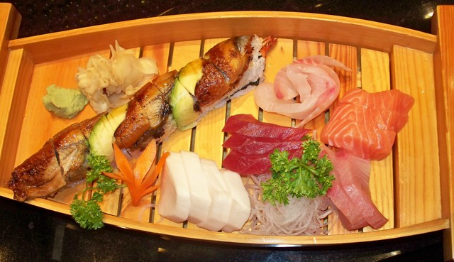SASHIMI BOAT 2 at Arisu Japanese Cuisine