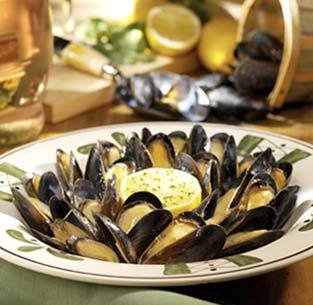 Mussels di Napoli at Olive Garden