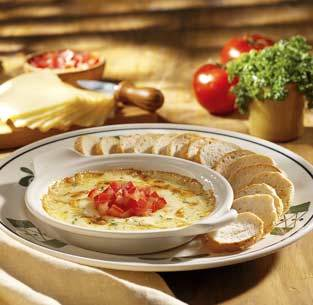 Smoked Mozzarella Fonduta at Olive Garden