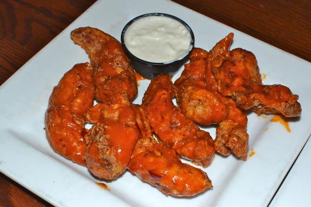 Hot! - Siracha Wings at Green Mill Restaurant and Bar