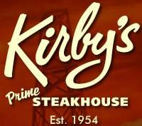 Logo at Kirby's Steakhouse