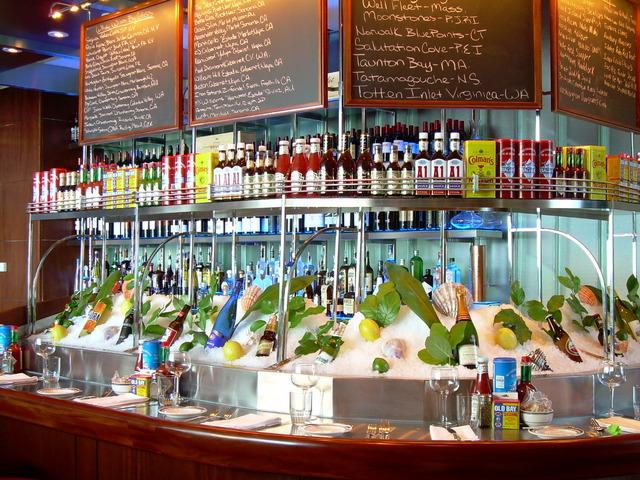 oceanaire seafood room order  menu reviews great uptown houston