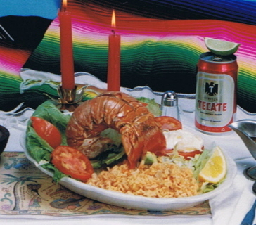 fresh lobster at costa azul every day - lobster at Costa Azul Restaurant