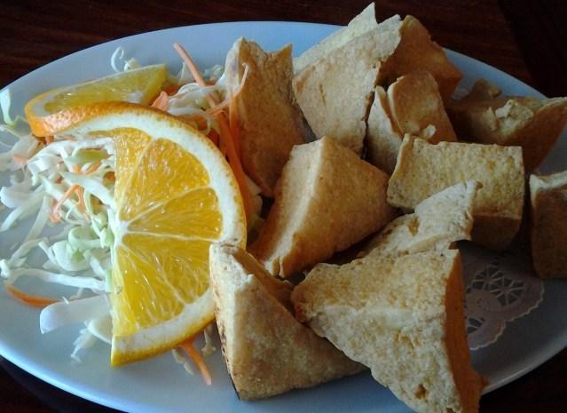 Fried Tofu at Ganda