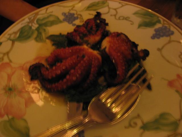 Roasted Baby Octopus at Quartino