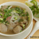 beef rice noodle soup at French Baguette