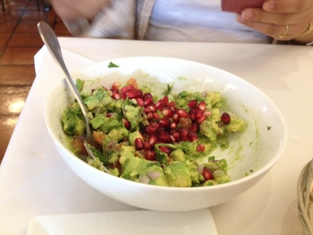 Guacamole at Barrio Cafe