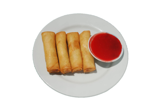 Egg Rolls (4) at Shanghai Restaurant