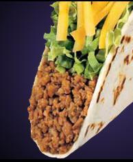 SOFT TACO at Taco Bell