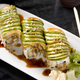 sushi roll at Mikado Thai Pepper Restaurant