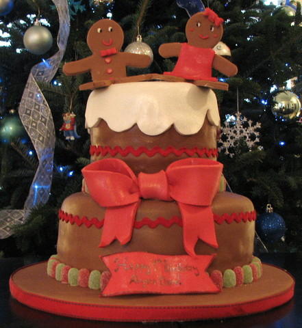 Gingerbread Cake at Butterfly Sweets