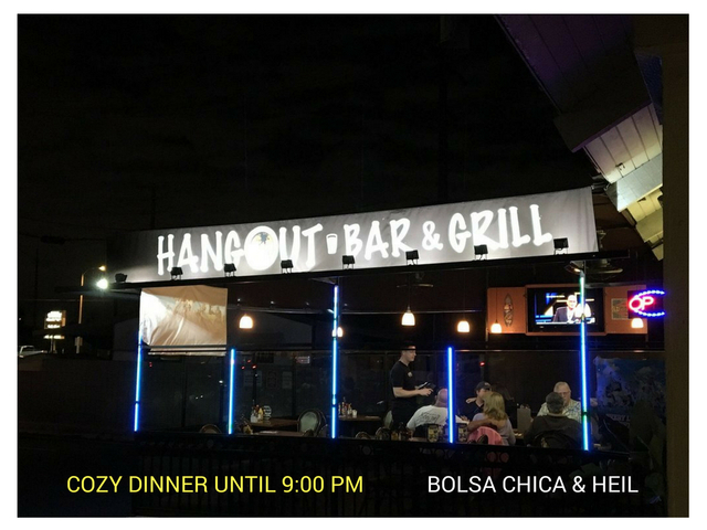 Exterior at Hangout Too Southern Bar & Grill