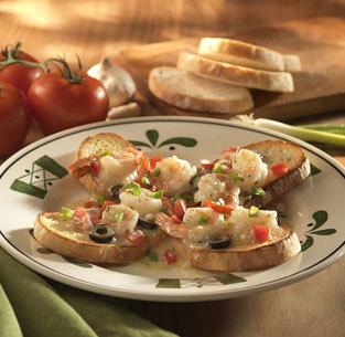 Sicilian Scampi at Olive Garden