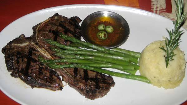 Porterhouse Steak (special) at Lista's Grill