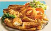 Photo of 4-Piece Fish & Chips Platter
