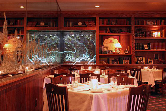 Interior at Kirby's Steakhouse