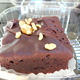 a little blurry - chocolate cake at Kirkland French Bakery