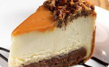 Caramel Fudge Cheesecake at Hooters