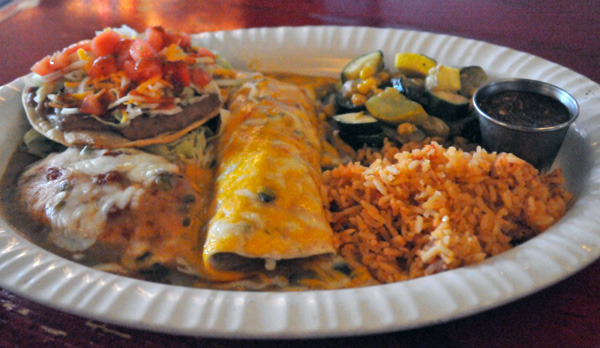 Chile Relleno Combination at Lista's Grill