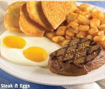 Steak & Eggs at Carrows