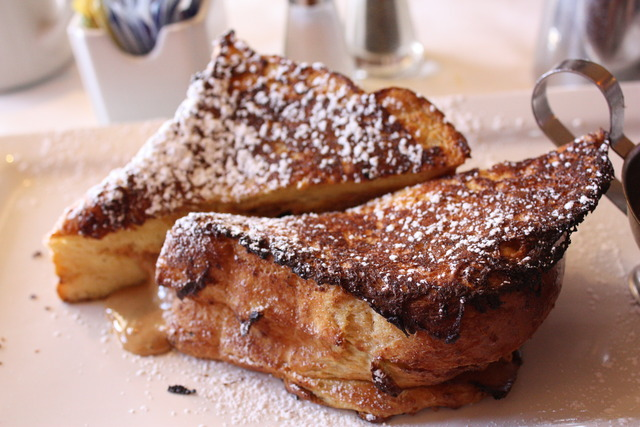 Reese's French Toast at 26 Beach Cafe