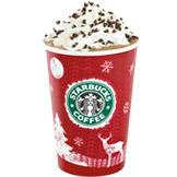 Peppermint Mocha Twist at Tully's Coffee