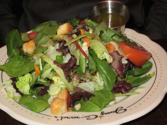 House Salad at Joey Gerard's - A Bartolotta Supper Club