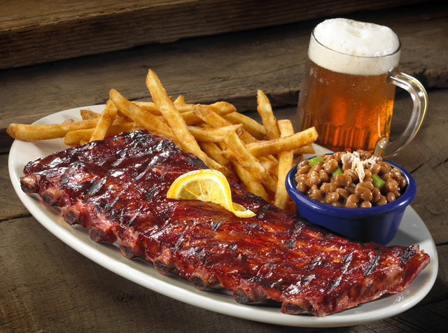 72. Full Slab Ribs at Red Hot & Blue