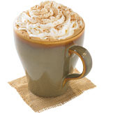 Pumpkin Spice Latte at Tully's Coffee