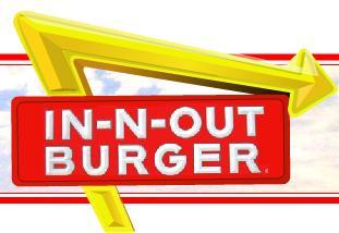 Logo at In-N-Out Burger
