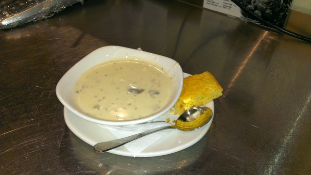Soup Du Jour at Blueberry Hill