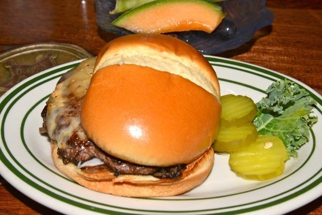 Ghost Pepper Cheeseburger at Grandma's Saloon & Grill