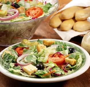 Garden-Fresh Salad at Olive Garden