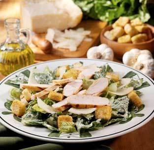 Grilled Chicken Caesar at Olive Garden