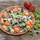 Veg Out Pizza - Gluten Free Pizza Crust at Mellow Mushroom