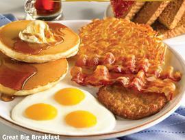Great Big Breakfast at Carrows