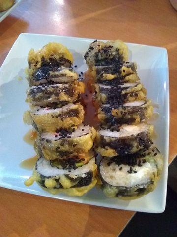 Franklin roll  - Franklin roll, Aggie Roll, California Roll, Chicken, Ribs at Okazuri Floating Sushi Bar