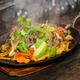 Sizzling steak fajitas! - Restaurant Menu at Hacienda's Mexican Grill